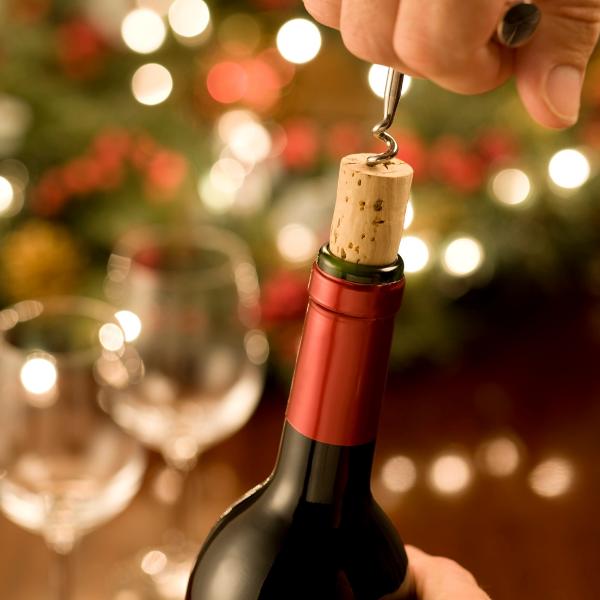 Weihnachtsfeier Wein Schulz